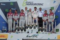 6H Nürburgring: Porsche wint strijd met Audi om thuiszege