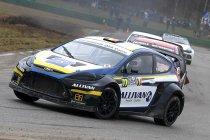 Britten te gast tijdens vijfde manche van BK Rallycross in Maasmechelen