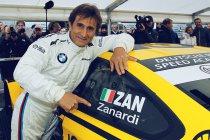 Alessandro Zanardi aan de start in Misano