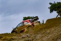 WRC: Rovanperä leidt de dans op Grieks onverhard