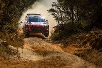 WRC: Neuville houdt kop ondanks lekke banden