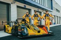 Christoff Corten, Bert en Stienes Longin werken testdag af in Dijon