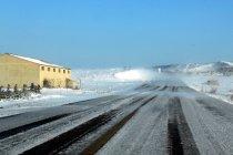 Sneeuw en ijs op MotorLand Aragón: tweede testdag geschrapt! (+ Foto's)
