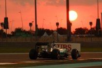 Abu Dhabi: Tweede vrije training is voor Rosberg