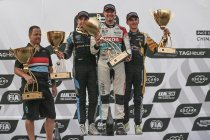 Wuhan: België boven - WRT-rijder Gordon Shedden wint hoofdrace, Comtoyou-duo Vervisch-Dupont mee op podium