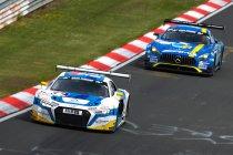 Nico Verdonck met Phoenix Audi aan de start van VLN10