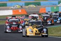 Marc-Olivier Van Oppens tussen McDonald's Racing en Fun 4 Racers