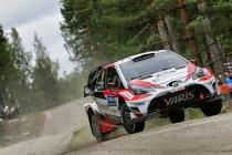 Finland: Toyota boven in openingsfase, Neuville ondergaat