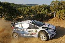 Rally van Sardinië: Hayden Paddon consolideert voorsprong