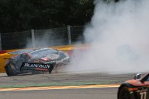 Video + Foto's: 24H Spa: Jos Menten slachtoffer van zware crash op Raidillon