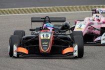 Nürburgring: Eerste punten voor Max Defourny - Norris op weg naar de titel