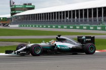 Canada: Zege voor Hamilton - Rosberg pas vijfde