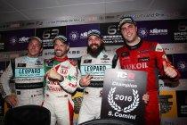 Macau: Tiago Monteiro wint, Stefano Comini verlengt titel na alweer ingekorte race