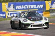 6H Spa: Hasse-Clot overleeft in ingekorte Porsche Cup-race - Maassen beste Benelux-rijder