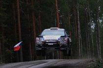 Rally Finland: Östberg pakt leiding in zeer spannende rally