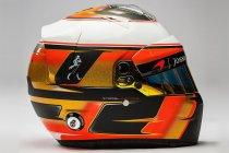 Stoffel Vandoorne's helm voor zijn eerste volledige F1-seizoen