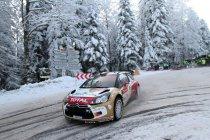 Rallye Monte Carlo: Loeb leidt nog steeds na dag 3 - bandenvoorraad raakt op