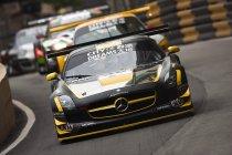Macau GT Cup: Engel (Mercedes) houdt Mortara (Audi) van pole