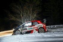 WRC: Podium omgegooid zaterdagochtend