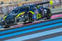 24H CIRCUIT PAUL RICARD: Drivex-Audi R8 LMS Ultra verovert nipt pole position