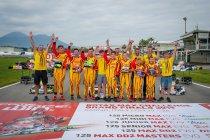 Belgen goed op dreef op WK in Sarno