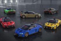 Exclusieve kleureditie van de Audi R8 LMS GT2 verkrijgbaar