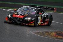 24H Spa: Audi en Ferrari snelst op verregende testdag