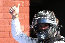 België: Rosberg pakt zoals verwacht de pole
