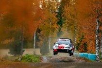 WRC: Evans primus in Rally van Finland