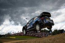 WRC: Letste jump kost Evans Finland