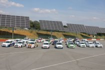 De deelnemers voor de Ford Fiesta Sprint Cup Belgium