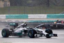 Maleisië: Strooien de weergoden roet in het eten bij Mercedes?