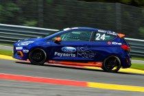 Spa Euro Race: Bert Longin en FordStore Feyaerts leiden kampioenschappen