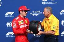 Italië: Pole voor Leclerc na bizarre kwalificatie - UPDATE