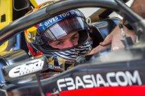 Macau GP: Daniel Ticktum met Van Amersfoort Racing