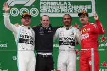 GP China: Hamilton wint duizendste F1-race
