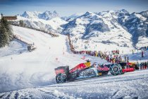 Video: Max Verstappen met F1 in de sneeuw