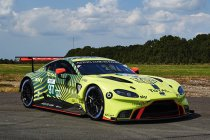 Aston Martin meet Vantage GTE nieuw kleedje aan