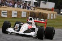 Festival of Speed: Stoffel Vandoorne bestuurde McLaren F1 van Ayrton Senna (+ Video)