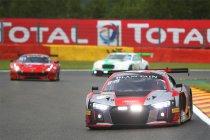 24H Spa: Audi snelste tijdens ingekorte warm-up