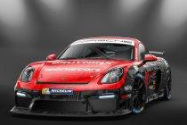 Foto's: PG Motorsport steekt Porsche GT4 in knap kleedje