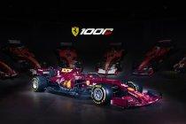 Ferrari viert duizendste Grote Prijs F1 met speciale livery