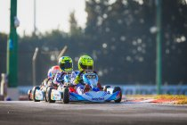 Ean Eyckmans leider in WSK Super Master Series na podium in La Conca