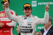 Brazilië: Tweede zege op rij voor Rosberg