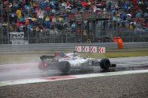 Italië: Felipe Massa snelst in door regen onderbroken sessie
