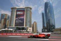 Azerbeidzjan: Dubbel voor Ferrari in tweede vrije training