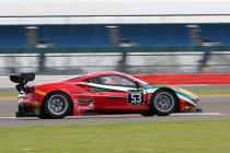 Silverstone: Fisichella zet Ferrari bovenaan in eerste vrije training