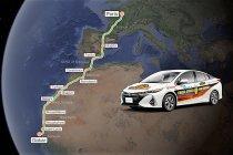 Van Parijs naar Dakar in een Toyota Prius