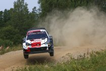 WRC: Rovanperä leider na openingsdag, Hyundai vecht