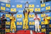 Moscow Raceway: Eerste WTCC-zege voor Nick Catsburg, nieuwe dubbelslag voor Lada